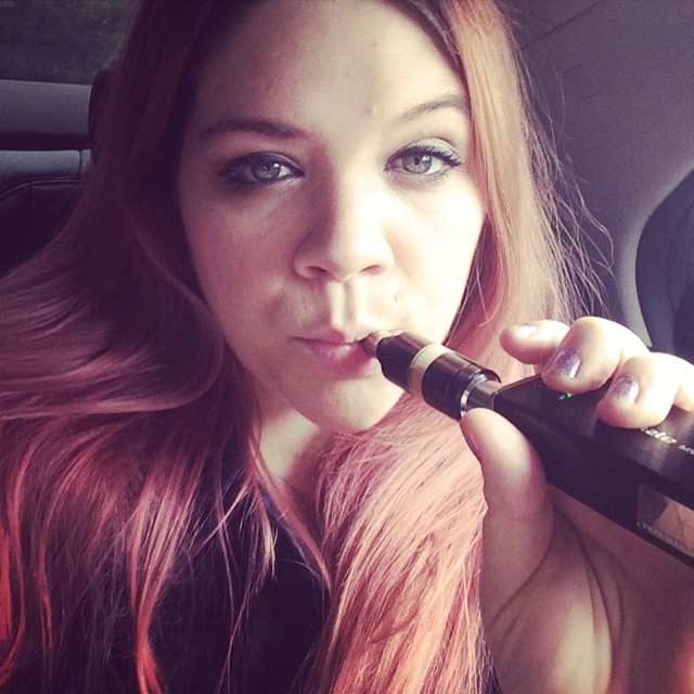 #LongHair #VapeGirl #GirlsWhoVape #Mods #TattooedGirls #hotmomma #Vaper #inked #ink #tattoos