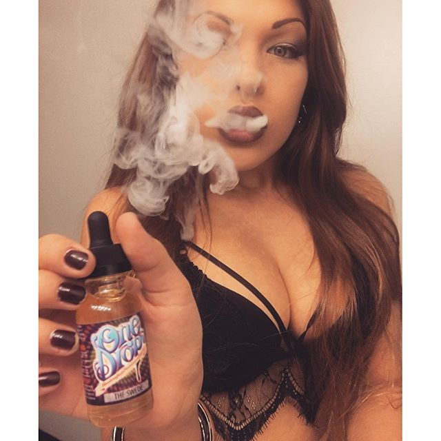 My SweetTooth Is Never Deprived Thanks To @onedropejuice The Swede Fills My Need. #beyondvape #cloudchaser #dripclub #dripgirl #eliquid #girlsthatvape #girlsvapehard #handcheck #instavape #modmen #onedropejuice #premiumejuice #vgod #vapeon #vapefam #vapelife #vapeporn #vapesirens #vapestagram #vapeallday #vapemodels #vapeordie #vapenation #vapecommunity #vapedaily
