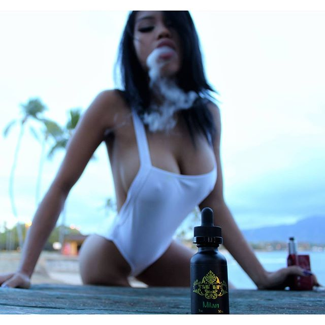 Milan - A tropical cocktail with a hint of pineapple! ?? ____ ? × @epicvisual ? × @tsar.vape ____ #Shykane #shykaneofficial #vape #vapeporn #vapemodels #vapemodel #vapeon #vapehappy #vapestagram #vapor #vapelife #fuckvapebans #notblowingsmoke #vapingsaveslives #vapedaily #boobsandvapes #instavaperz #hawaii #beach #ocean #paradise #model #modelinghawaii #bikini #sunset #asiangirls #asian #bae #babe